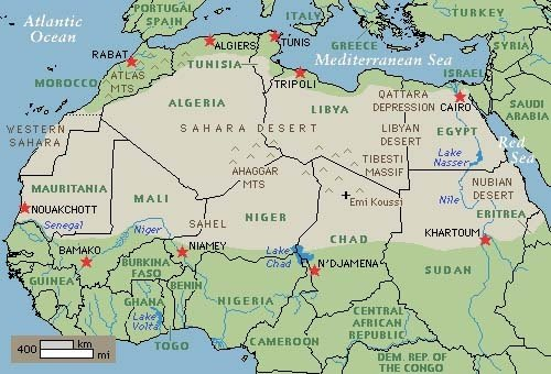 Why don't/can't we put solar panels in the Sahara Desert ...
