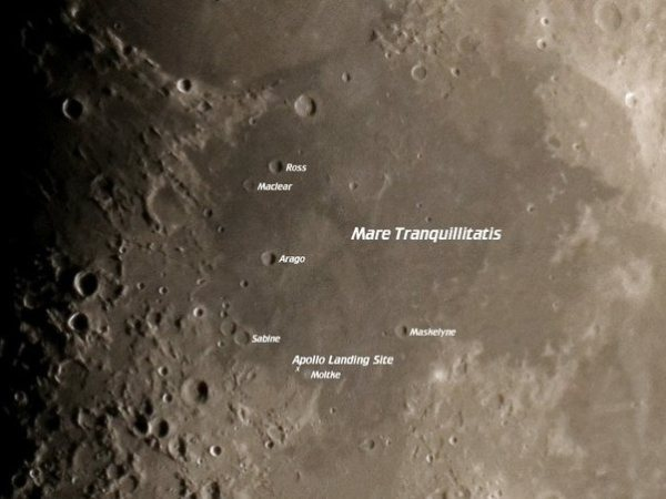 What did the Apollo 11 astronauts see on the moon that had ...