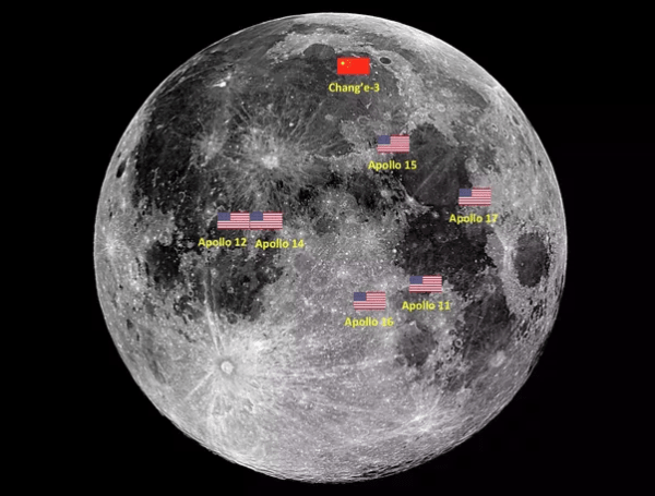 What are the odds of Chinas lunar rover finding the