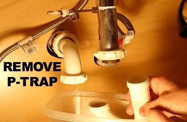 how to get a bathroom sink plug removed
