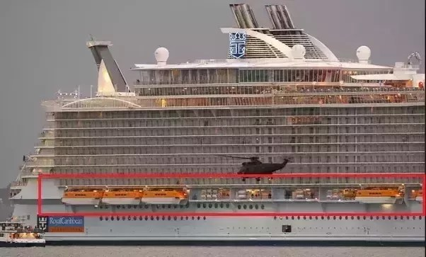 what to do when a cruise ship sinks