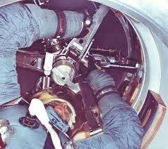 How did Apollo astronauts move from the command module ...