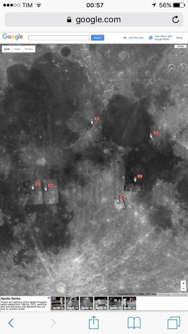 If the Apollo 11 landing was real, why isn't there a ...