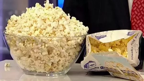 who invented microwave popcorn packet