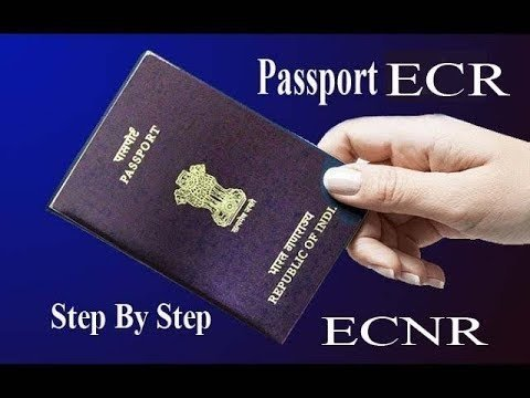 What does ECR and ECNR mean on an Indian passport? - Quora