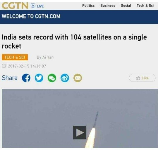 How did the foreign media report the ISRO's record ...