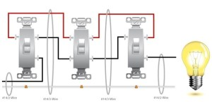 How to wire a 4 way switch with 4 lights? What are some