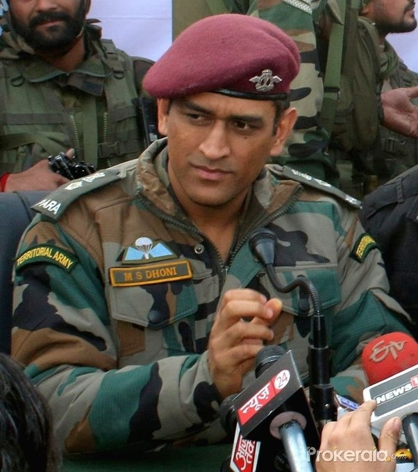 Has MS Dhoni Worked In The Indian Army Quora