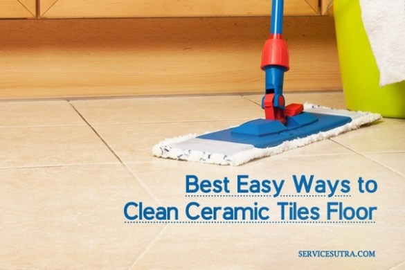 What is the best way to clean a ceramic tile floor    Quora Baking soda  Yes  baking soda is one product you must use to clean the ceramic  tiles floor at home  In fact  it is also great for regular cleaning and the