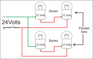 How to wire 12volt lights to a 24volt system  Quora