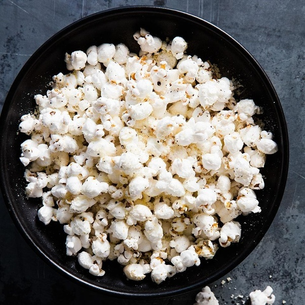 how was popcorn discovered before there