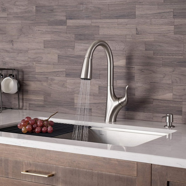 standard sizes for kitchen faucets
