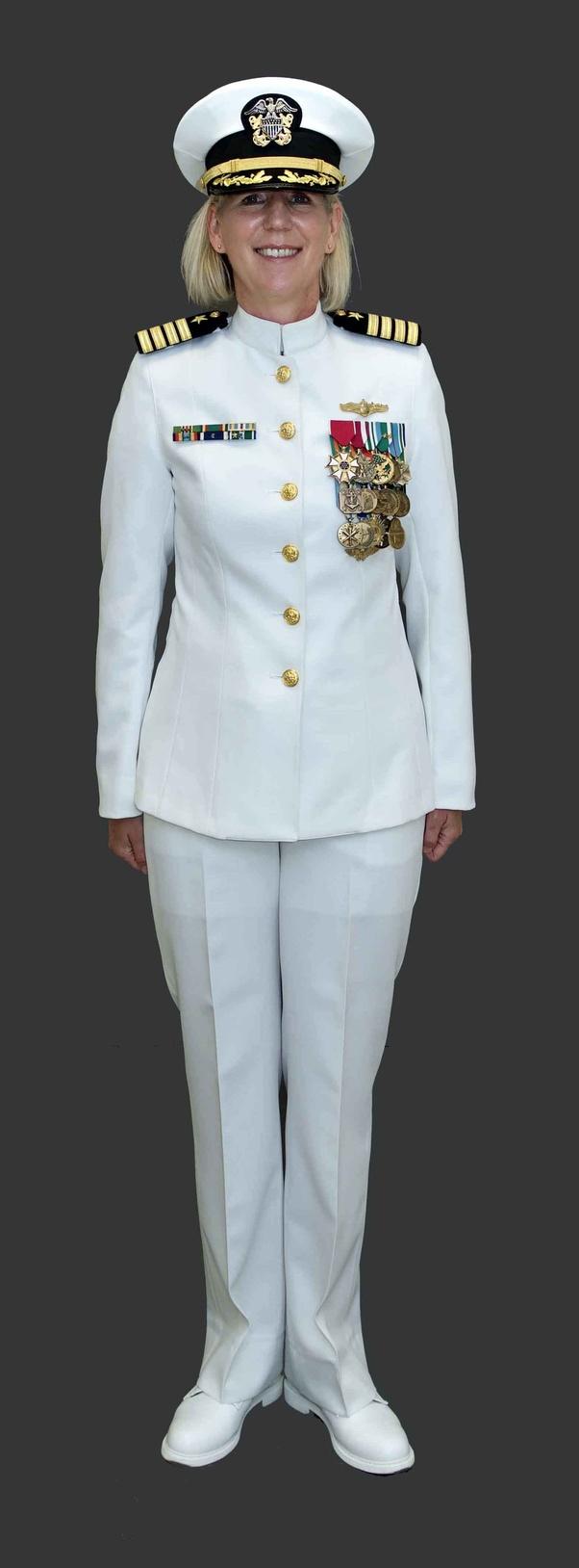 wear on their full dress uniform