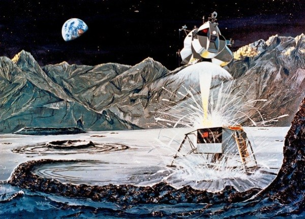 What part of the ship of Apollo 13 is called the limb or ...