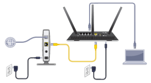 How to connect a NETGEAR N600 wireless router  Quora