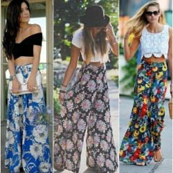 712c3ce954 Flowers Palazzo Pants Girls | Gardening: Flower and Vegetables
