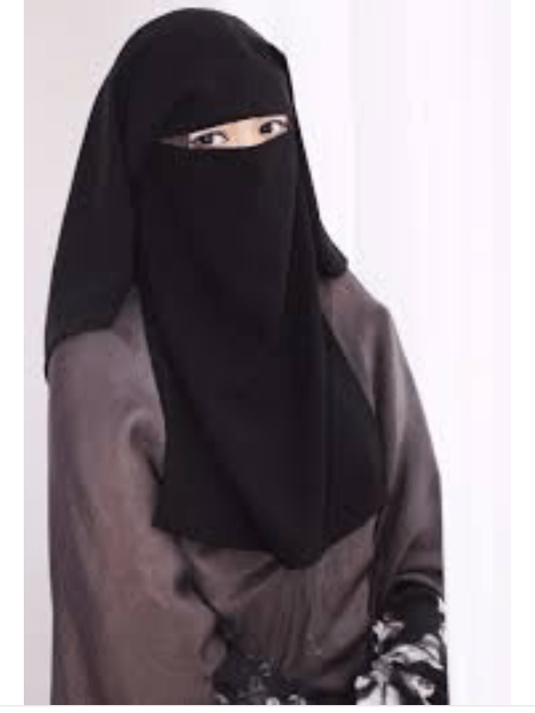 The niqab is mainly worn by women in arab countries. What are the differences between a hijab, niqab, and burqa ...