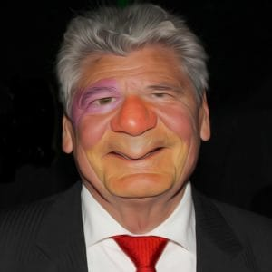 Joachim Gauck Gaukler Guess August der Nation Bundespraesident Placebo Politiker Luegner Intrigant Schleimer Pastor Prediger qpress
