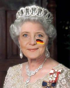 Königin Merkel als Sargnagel 2021 für CDU und BRD