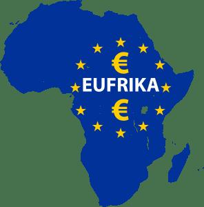 Europa und Afrika in einem Durchgang ruinieren