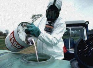 05-Mobnsanto Gift in oel das Idyll vom Lande bauer bei der Arbeit