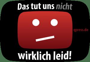 Der Loesch-Zensor wuetet sich bei YouTube durch