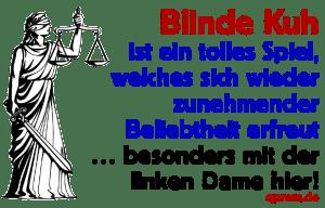 Blindengeld für den behinderten deutschen Staat