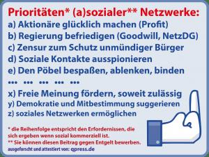 "Facebook verabschiedet sich als ""Social Media"""
