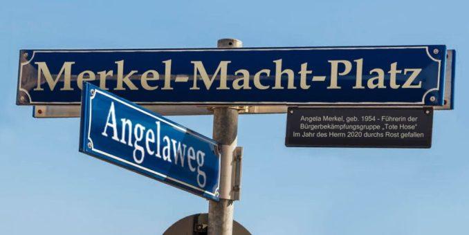 Eilumbenennung der Straße des 17. Juni in Berlin