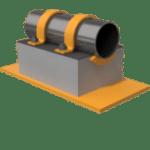 300mm QplaS Cold Line Support (Fig. 440)
