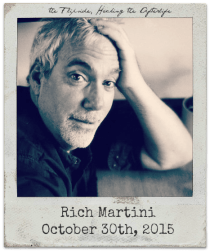 """10.30.15 Rich Martini: """"The Flipside"""" and """"Hacking the Afterlife"""""""