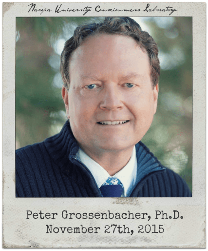 11.27.15 Peter Grossenbacher: The Consciousness Lab at Naropa University (Boulder, CO)