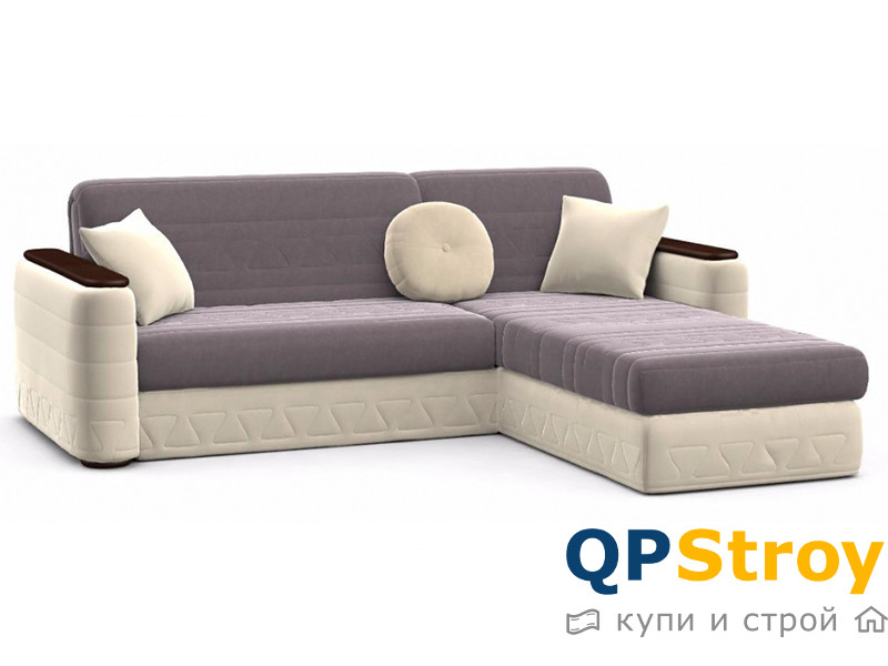 Угловой диван аккордеон Кристина-3 по фото