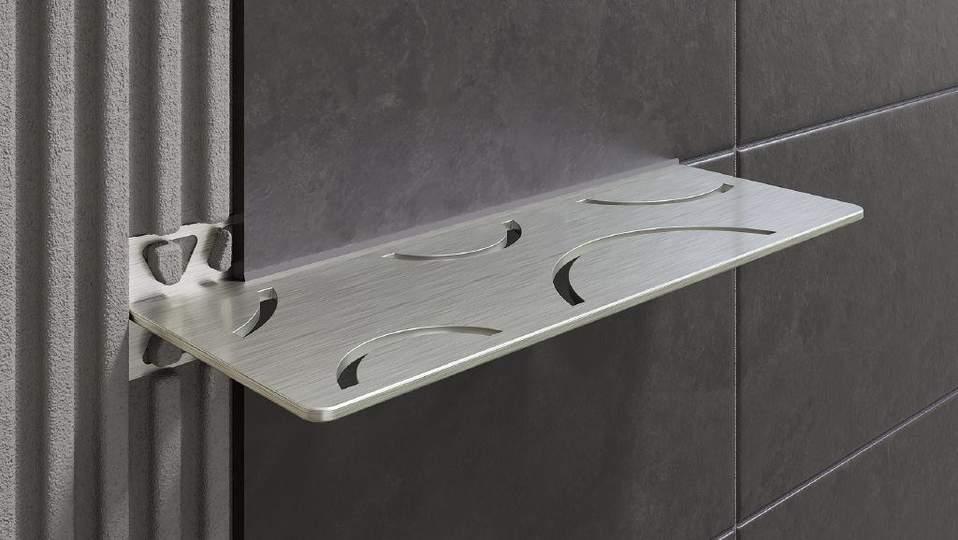 schluter shelf etageres esthetiques