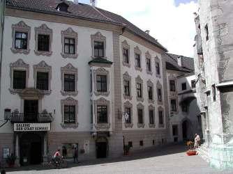 Palais Tannenberg-Enzenberg in der Franz Josef-Straße