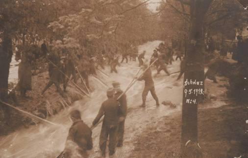 Lahnbachhochwasser 1912