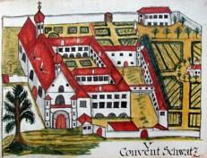 Klosteransicht aus Archiv Bozen