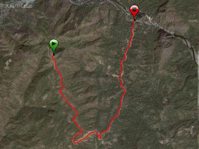 Montalban Trail Route