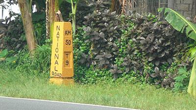 Km 50 Marker