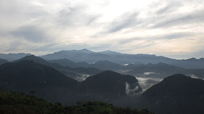 View from the summit of Montalban