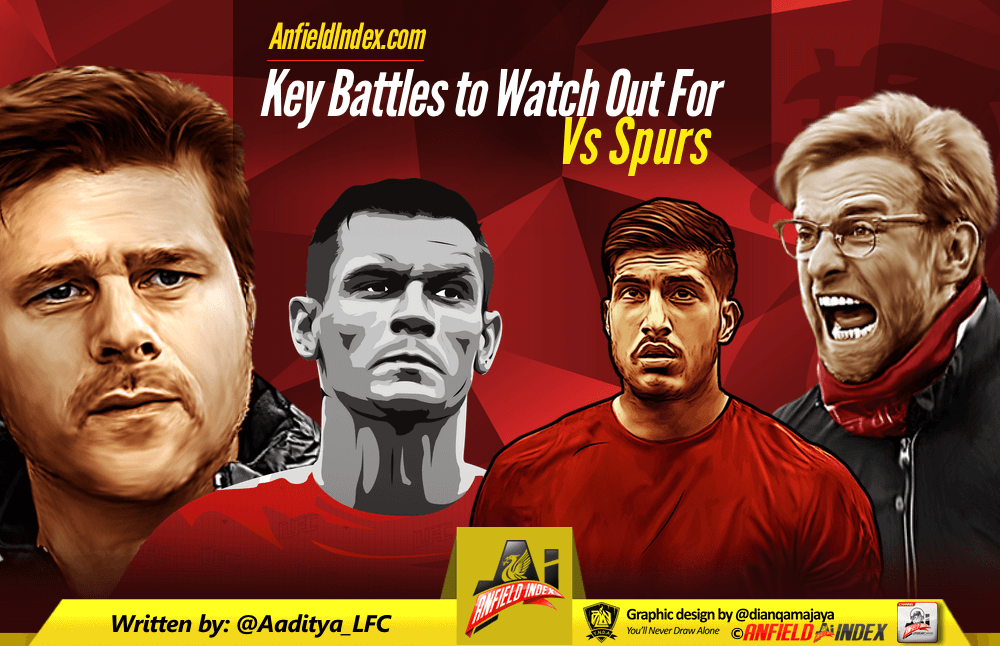 Spurs v Liverpool Key Battles