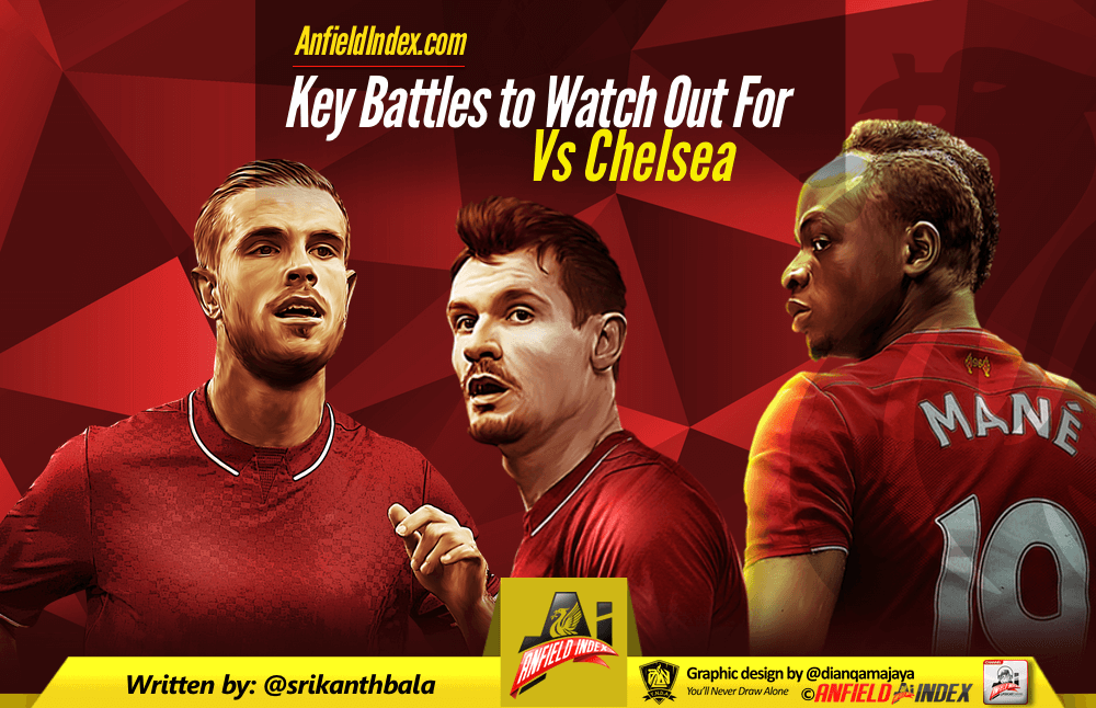 Liverpool vs Chelsea Preview - Key Battles