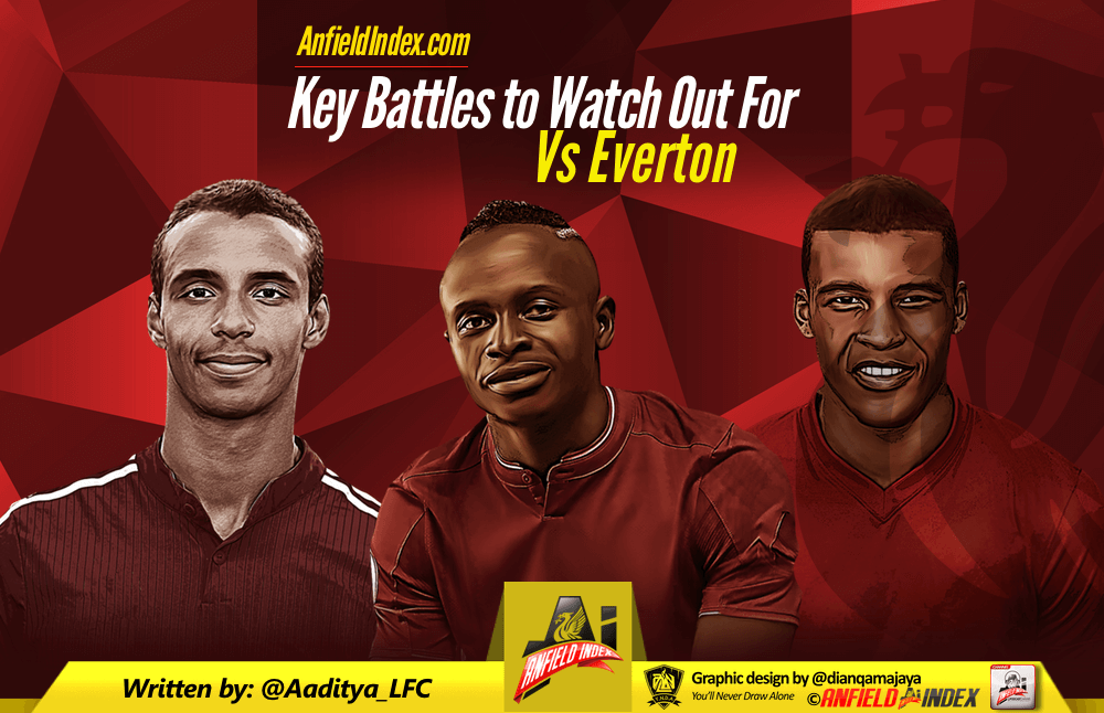 Liverpool v Everton Preview - Merseyside Derby's Key Battles