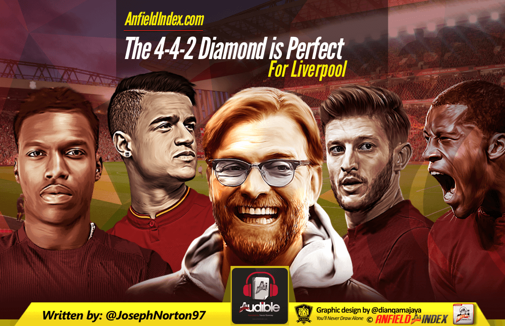 The 4-4-2 Diamond is Perfect for Liverpool