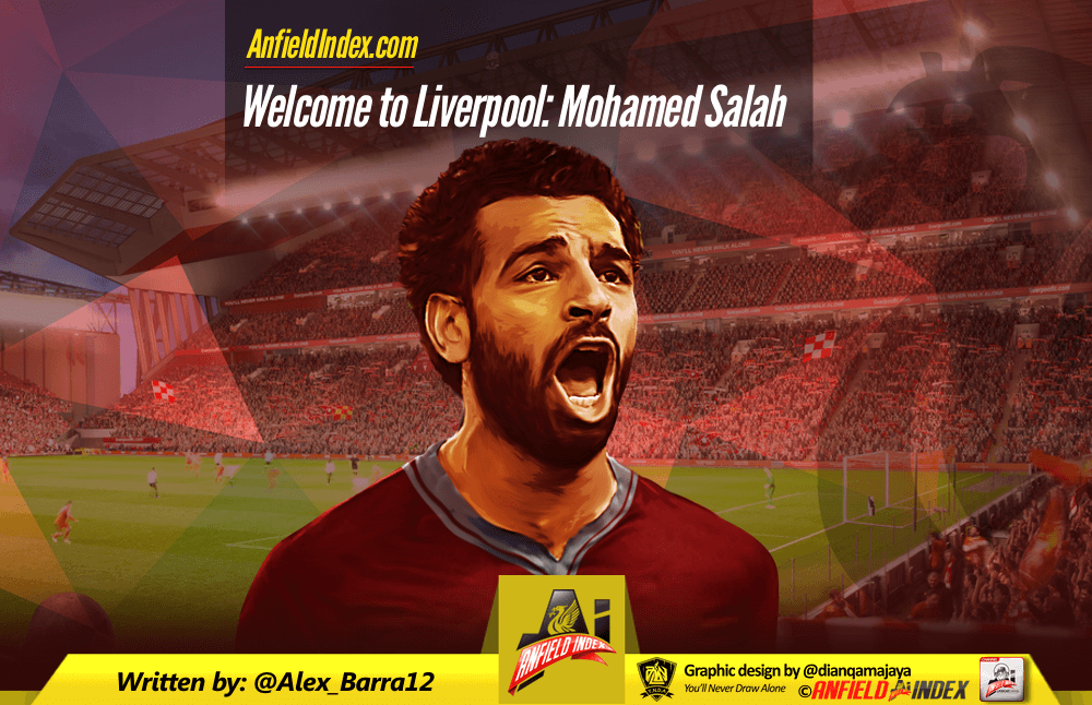 Welcome to Liverpool: Mohamed Salah