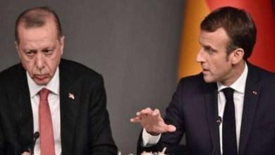 صورة ماكرون بونابرت وأردوغان الفاتح!