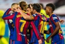 صورة قدم.. برشلونة يستعيد توازنه برباعية نظيفة أمام أوساسونا