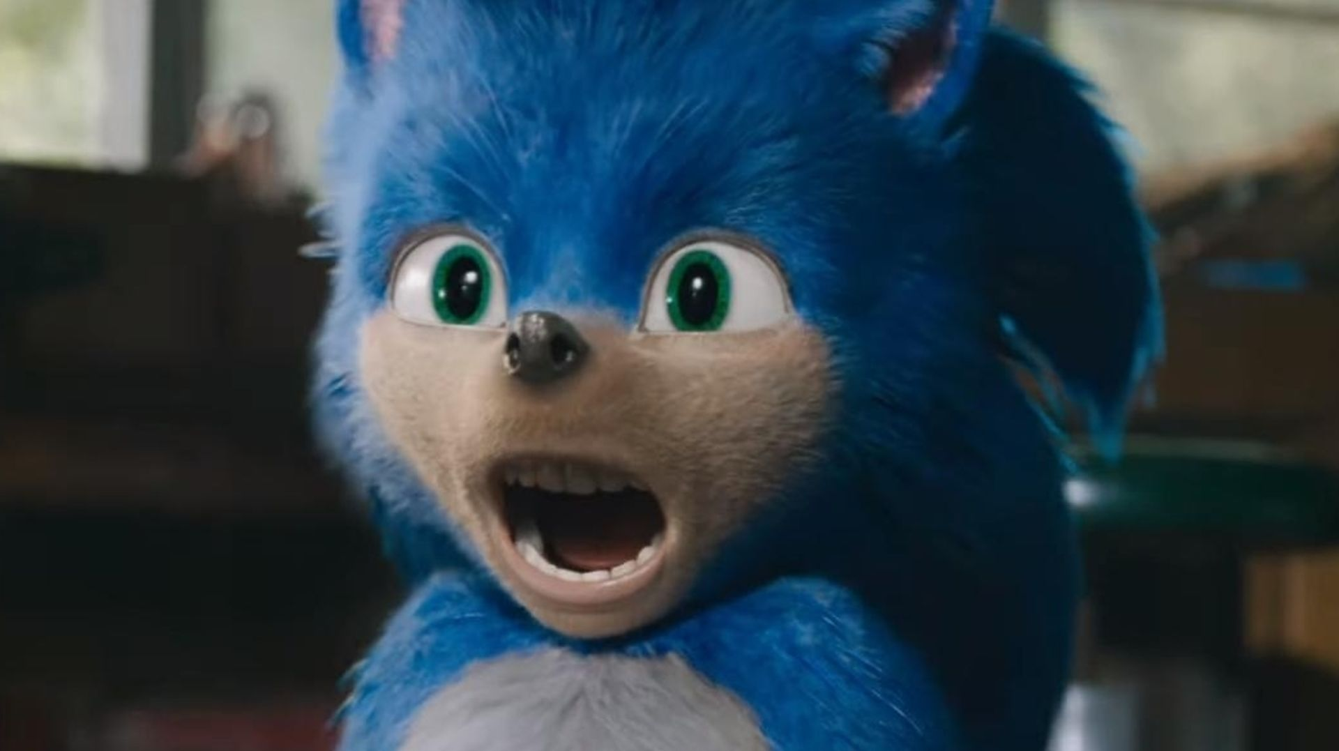 The first trailer for <em>Sonic the Hedgehog</em> is as weird as you'd expect