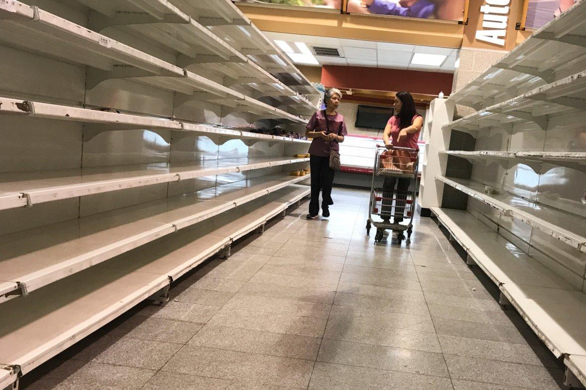 Food shortage Venezuela
