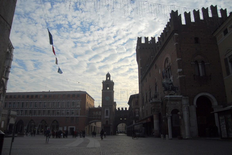 Vista di Ferrara